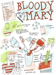 Recipes by Anne Passchier, via Behance