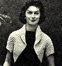 A Simple Knitted Shrug Pattern - EASY - 726002 - I need someone to knit this for me.