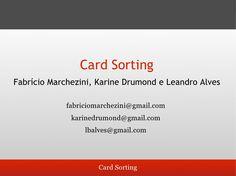 guia-para-cardsorting by Karine  Drumond via Slideshare