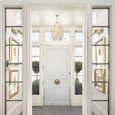 Home is where the pastel door is.