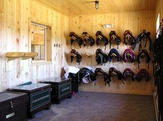 I like these saddle racks