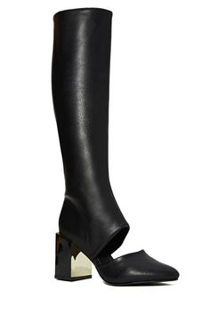 Nastygal peekaboo boots