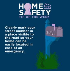 We've shifted out safety tips to Saturday! This week, a little home maintenance can go a long way in emergency safety. #incaseofemergency #homesafety #familysafety