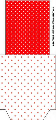 Imprimibles de lunares rojo y blanco 3. - Ideas y material gratis para fiestas y celebraciones Oh My Fiesta!