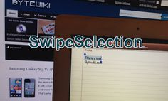 SwipeSelection Cydia App: Make Your Text Editing Fast On iPhone, iPad And iPod Touch