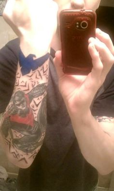 That's a sick Nightwing tattoo!