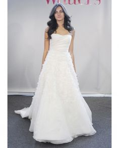Watters Spring 2013 a-line wedding gown