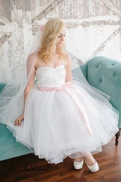 Classic Fairytale Bridal Wedding Gown Prom Dress by priscilladawn, $1100.00