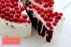 Ribizlis-túrós csokitorta szénhidrát diéta alatt is - recepttel!