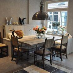 Project Texel | MAEK meubels & keukens Dining Table, Furniture, Home Decor, Decoration Home, Room Decor, Dinner Table, Home Furnishings, Dining Room Table, Home Interior Design