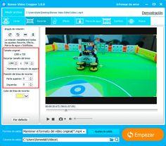 Si está buscando un programa para cortar vídeos, Renee Video Editor sería su mejor opción, ya que no sólo es gratuito, también puede satisfacer sus requisitos de edición. https://www.reneelab.es/como-cortar-videos.html