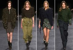 Isabel Marant Fall/Winter 2014-2015 Collection - Paris Fashion Week  #ParisFashionWeek #fashionweek #PFW