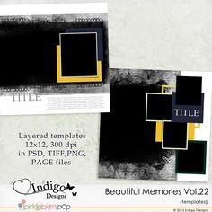 Beautiful Memories Templates Vol.22