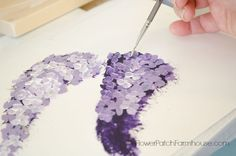 How To Paint Lilacs, Fast and Easy