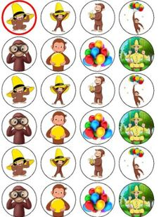 Buy 12 -Curious George Edible Cupcake Toppers in Cheap Price on … Buy 12 -Curious George Edible Cupcake Toppers in Cheap Price on … The post Buy 12 -Curious George Edible Cupcake Toppers in Cheap Price on … appeared first on Paris Disneyland Pictures. Curious George Party, Curious George Cupcakes, Curious George Birthday, Birthday Book, Bear Birthday, 3rd Birthday Parties, Birthday Ideas, Curious George Coloring Pages, Paw Patrol Cupcakes