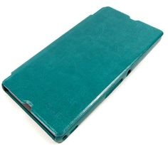 Green KLD Leather Case for Sony Xperia Z