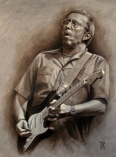 Eric Clapton by Theo Reijnders