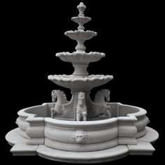 Garden Fountain, Fountains with Pools over Large Outdoor Garden Fountains Large Outdoor Fountains, Garden Fountains, Water Fountains, Outdoor Water Features, Water Features In The Garden, Water Fountain Design, Fountain Ideas, Sims House Plans, Shops