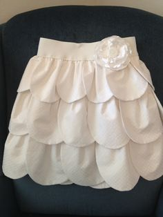 Petal skirt. How cute!