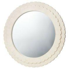 Target scalloped mirror! $28