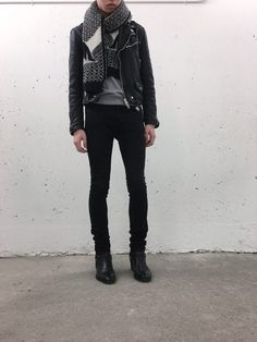 [WDYWT] winter's last breath : streetwear Stylish Mens Outfits, Cool Outfits, Rock Star Outfit, Jeans And Boots, Black Jeans, Estilo Dark, Mens Fashion, Fashion Trends, Fashion Sets