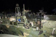 L'imbarcazione della marina statunitense sequestrata dalle Guardie della rivoluzione iraniane in seguito a un incidente nelle acque del Golfo Persico. I dieci marines fermati dall'#Iran sono stati rilasciati velocemente. (© Ansa) #barcha #nave