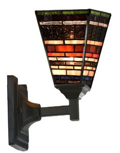 Louis Comfort Tiffany, Stained Glass Lamps, Wall Lamps, Look Fashion, Ornament, Art Deco, Industrial, Decoration, Appliques