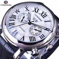9cc420efa13 Classic Series Roman Number Calendar Sapphire Crystal Waterproof Watch  Cheap Watches