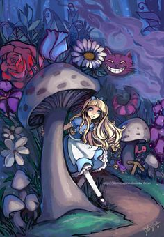 Alice in Wonderland by StarMasayume.deviantart.com