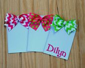 Preppy Magnetic Picture Frame Chevron Fridge Magnet  Belle's on the Bayou  bellesonthebayou.facebook.com