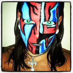 Admirable Similiar Jeff Hardy Create Face Paint Keywords Short Hairstyles Gunalazisus