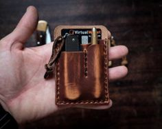 Hitch and Timber••EDC Card Caddy