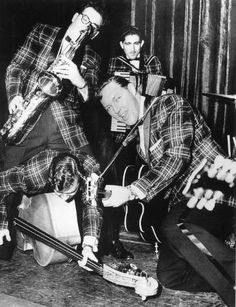 """Bill Haley and the Comets recorded """"Rock Around the Clock"""" in 1955."""