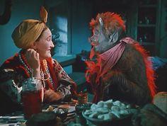 """russian actress Lyudmila Hityaeva ( 1961 ). """"Вечера  на  хуторе  близ  Диканьки"""". """"Черт""""-Г. Милляр."""