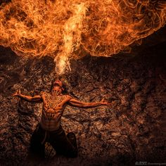 Epic Flame Photography by Benjamin Von Wong