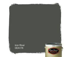 Dunn-Edwards Paints paint color: Iron River DEA176 | Click for a free color sample