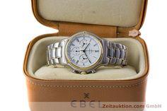 gebrauchte Luxusuhr Ebel 1911 Chronograph Stahl / Gold Automatik Kal. 134 Ref. 64608370  | 153689 07