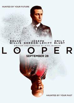 animated movie posters ~ Looper