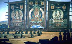 http://uploads6.wikiart.org/images/nicholas-roerich/mongolian-tsam-1928.jpg