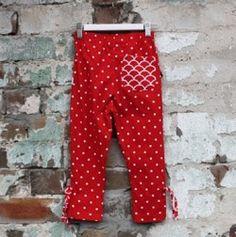 Legging Lucy Vermelha - Paperdolls