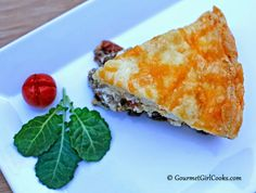 Gourmet Girl Cooks: Impossibly Easy Beef, Kale & Cheddar Pie - Low Carb One-Dish Meal