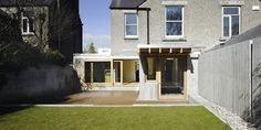 Special Mention AAI Awards 2011 Location: Dublin Status: Built The project sees refurbishment of a late Edwardian House, opening it to the garden by. Rainwater Cistern, Brick Paving, Edwardian House, Attic Stairs, Outdoor Spaces, Outdoor Decor, House Extensions, Step Inside, Solar Panels