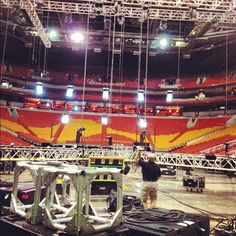 Construction at American Airlines Arena in Miami are underway for Vitality!