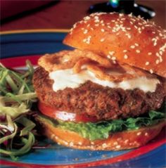 Ranch Burger Recipe #UltimateFan
