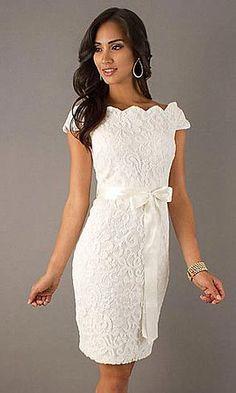 Modelos de vestidos curtos para casamento civil