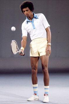 Tennis Sport 70's look