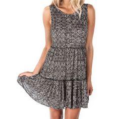 Element Lillo Dress - Black - JD726LIL   Element Canada