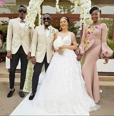 Below are series of photos trending on Instagram which features Jim Iyke and actress, Rosaline Meurer as newly weds. But before you run minds wild and start congratulating actor Jim Iyke for finally tying the knot, let's backtrack a little bit. As much as we want to hear wedding bells for the