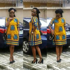New African fashion clothing looks Tips 9335970224 African Fashion Designers, African Fashion Ankara, Latest African Fashion Dresses, African Print Fashion, Africa Fashion, Modern African Print Dresses, Short African Dresses, African Traditional Dresses, Ankara Dress Designs
