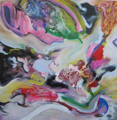 """Saatchi Online Artist: Marie-Hélène Fabra; Oil, 2012, Painting """"danse N°3"""""""